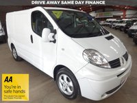 """USED 2013 63 RENAULT TRAFIC 2.0 SL27 SPORT DCI S/R SWB VAN 115 BHP ONE OWNER """"YOU'RE IN SAFE HANDS"""" - AA DEALER PROMISE"""
