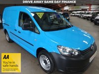 "USED 2013 13 VOLKSWAGEN CADDY MAXI 1.6 C20 TDI LWB VAN  102 BHP VAN WITH AIR CON-ONE OWNER-LOW MILEAGE-SERVICE HISTORY ""YOU'RE IN SAFE HANDS"" - AA DEALER PROMISE"