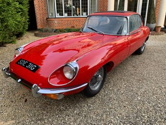 1969 JAGUAR E-TYPE 4.2 4.2 2d  £57950.00