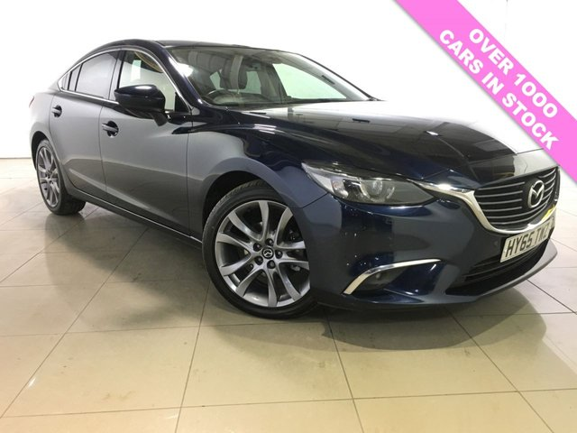 View our 2015 65 MAZDA 6 2.2 D SPORT NAV 4d 148 BHP