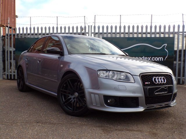 2007 07 AUDI RS4 QUATTRO FULL SERVICE HISTORY SAT NAV BOSE SOUND SYSTEM