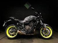 USED 2017 17 YAMAHA MT-07 ABS. 328 MILES. 2017. HPI CLEAR. A BEAUTY