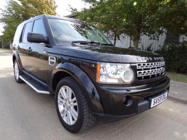 2009 59 LAND ROVER DISCOVERY LAND ROVER DISCOVERY 4 3.0TDV6 HSE DIESEL AUTOMATIC SAT NAV