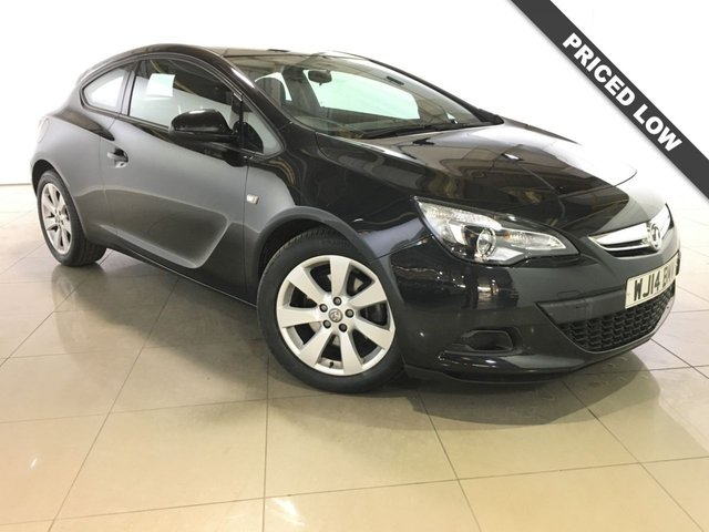 View our 2014 14 VAUXHALL ASTRA 1.7 GTC SPORT CDTI S/S 3d 108 BHP