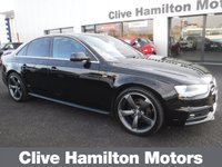 """USED 2014 63 AUDI A4 2.0 TDI S LINE 4d 148 BHP NEW 19""""ALLOYS INCLUDED IN PRICE"""