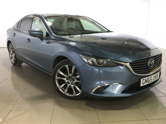 View our 2015 65 MAZDA 6 2.2 D SPORT NAV 4d AUTO 173 BHP