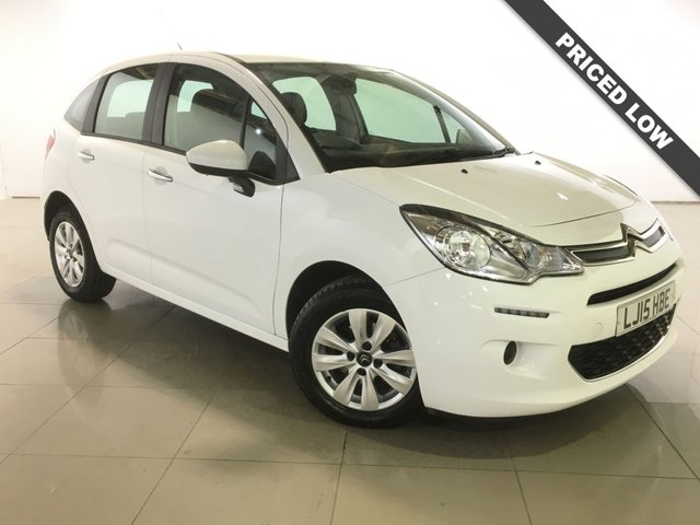 View our 2015 15 CITROEN C3 1.0 PURETECH VTR PLUS 5d 67 BHP