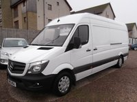 USED 2015 15 MERCEDES-BENZ SPRINTER 2.1 313 CDI LWB 1d 129 BHP 1 OWNER, OUTSTANDING CONDITION