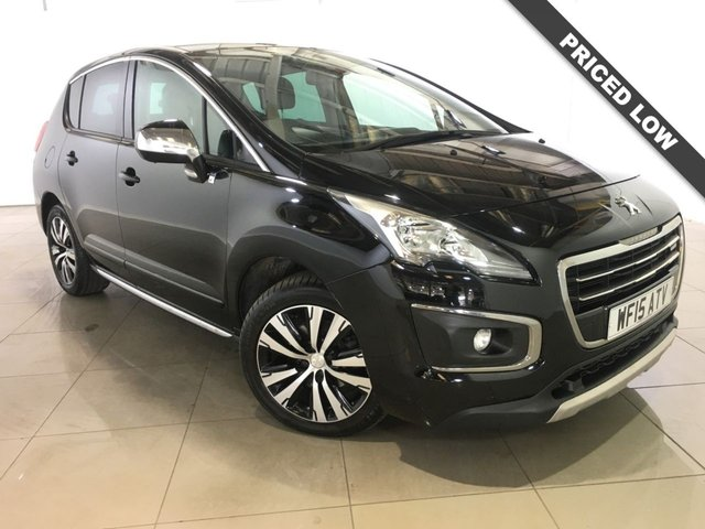 View our 2015 15 PEUGEOT 3008 2.0 HYBRID4 ALLURE 5d AUTO 200 BHP