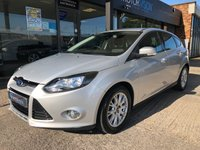 USED 2011 61 FORD FOCUS 1.6 TITANIUM TDCI 115 5d 114 BHP Excellent with Full Main Dealer History, 12 months MOT, £20 TAX
