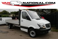 2016 MERCEDES-BENZ SPRINTER 2.1 313 CDI 129 BHP LWB DROPSIDE (14.2 FT ALLOY BODY ONE OWNER)) £15790.00