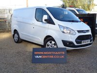 2015 FORD TRANSIT CUSTOM 2.2 270 LIMITED LR 5d 125 BHP SWB £12990.00