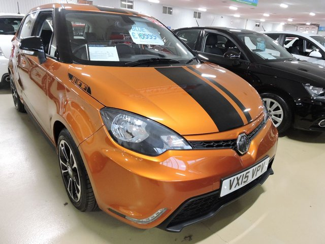 View our 2015 15 MG 3 1.5 3 STYLE LUX VTI-TECH 5d 106 BHP