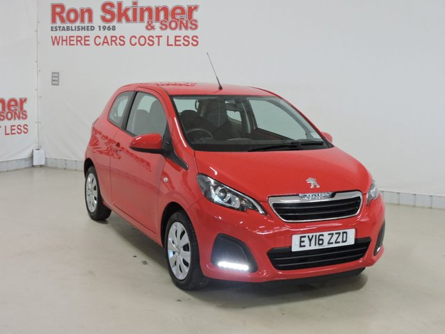 View our 2016 16 PEUGEOT 108 (22)   1.0 ACTIVE 3d 68 BHP