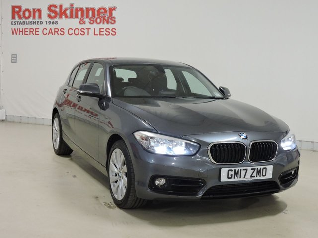 View our 2017 17 BMW 1 SERIES 2.0 118D SPORT 5d 147 BHP