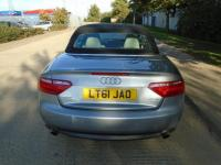 USED 2011 61 AUDI A5 2.0 TFSI SE CONVERTIBLE AUTOMATIC 65,000 MILES PART EXCHANGE AVAILABLE / ALL CARDS / FINANCE AVAILABLE