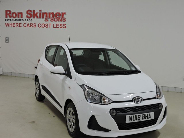 View our 2018 18 HYUNDAI I10 1.0 SE 5d 65 BHP