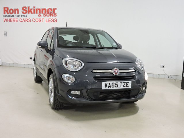 View our 2016 65 FIAT 500X 1.4 MULTIAIR POP STAR 5d 140 BHP
