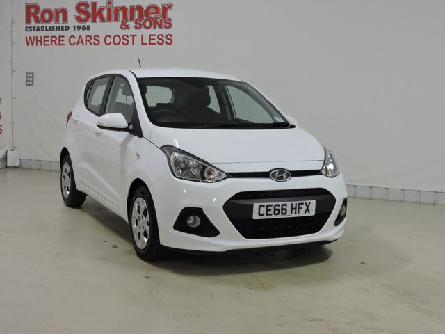 View our 2016 66 HYUNDAI I10 1.0 SE 5d 65 BHP