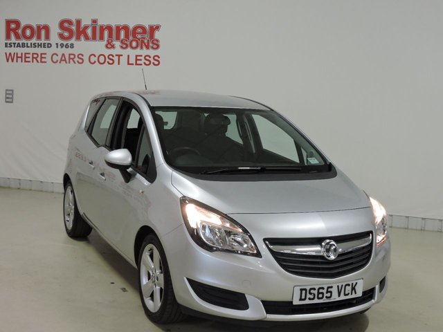 View our 2015 65 VAUXHALL MERIVA 1.4 EXCLUSIV AC 5d 99 BHP