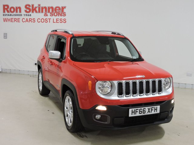 View our 2016 66 JEEP RENEGADE 1.6 M-JET LIMITED 5d 118 BHP