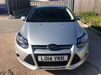USED 2014 14 FORD FOCUS 1.6 ZETEC TDCI 5d 113 BHP