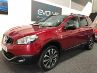 USED 2013 63 NISSAN QASHQAI+2 1.6 DCI 360 IS PLUS 2 5d 130 BHP LONG MOT! NAV! PAN ROOF! 360!