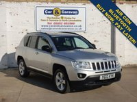USED 2012 12 JEEP COMPASS 2.0 SPORT PLUS 5d 154 BHP One Owner Full Service History Buy Now, Pay in 2 Months!