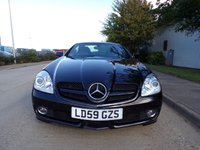 USED 2009 59 MERCEDES-BENZ SLK 3.0 7G-TRONIC PETROL AUTOMATIC SAT NAV 60,000 PART EXCHANGE AVAILABLE / ALL CARDS / FINANCE AVAILABLE