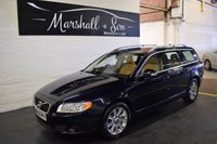 USED 2009 09 VOLVO V70 2.4 D SE LUX 5d 175 BHP ONE OWNER FROM NEW - 11 VOLVO STAMPS TO 109K INCL CAMBELT - LEATHER - POWER BOOT