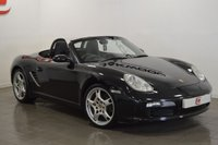 USED 2005 55 PORSCHE BOXSTER 2.7 24V 2d 240 BHP LOW MILES + BEST COLOUR + PORSCHE SERVICE HISTORY + UPGRADED WHEELS