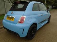 USED 2013 13 ABARTH 500 1.4 T-JET ABARTH FULLY LOADED CONVERTIBLE ONLY 58,000 MILES PART EXCHANGE AVAILABLE / ALL CARDS / FINANCE AVAILABLE