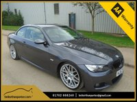 USED 2007 57 BMW 3 SERIES  3.0 TWIN TURBO AUTOMATIC M SPORT JUST 80,000 MILES PART EXCHANGE AVAILABLE / ALL CARDS / FINANCE AVAILABLE