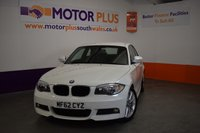 USED 2012 62 BMW 1 SERIES 2.0 118D M SPORT 2d 141 BHP