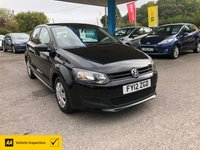 USED 2012 12 VOLKSWAGEN POLO 1.2 S A/C 5d 60 BHP NEED FINANCE? WE CAN HELP!