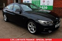 USED 2015 65 BMW 4 SERIES 2.0 420D M SPORT GRAN COUPE 4d AUTO 188 BHP +ONE OWNER +FSH +SAT NAV