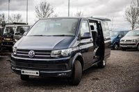 USED 2018 18 VOLKSWAGEN TRANSPORTER T30 TDI KOMBI HIGHLINE SWB 204 BLUEMOTION EURO 6 Sat Nav (Discovery Media), Electric Folding Mirrors, App Connect, Comfort Dash, Front & Rear Parking Sensors, Rear Parking Camera, Heated Seats, Power Latch to Side Door & Rear Tailgate.