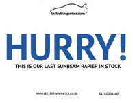 USED 1972 SUNBEAM RAPIER 1.7 1700 2d  PART EXCHANGE AVAILABLE / ALL CARDS / FINANCE AVAILABLE