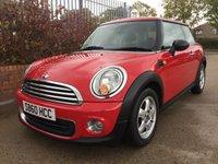 2010 MINI HATCH ONE 1.6 ONE 3d 98 BHP £4790.00