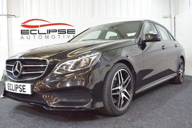 2016 65 MERCEDES-BENZ E CLASS 3.0 E350 BLUETEC AMG NIGHT EDITION 4d AUTO 255 BHP