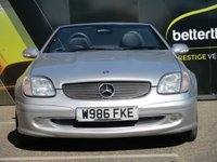 USED 2001 W MERCEDES-BENZ SLK 2.3 AUTOMATIC LEATHER AIR CON 70,000 CRUISE CONTROL PART EXCHANGE AVAILABLE / ALL CARDS / FINANCE AVAILABLE