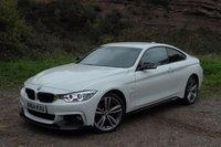2014 BMW 4 SERIES 2.0 420D XDRIVE M SPORT 2d AUTO 181 BHP £18995.00