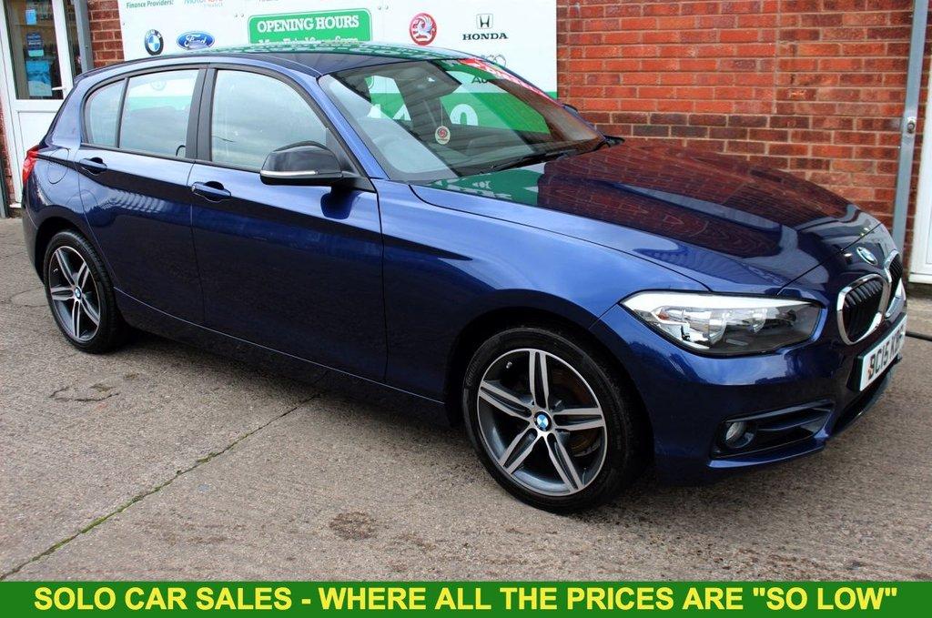 2015 15 BMW 1 SERIES 1.5 116D SPORT 5d 114 BHP