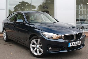 2014 BMW 3 SERIES 2.0 320D SE GRAN TURISMO 5d 181 BHP £12489.00