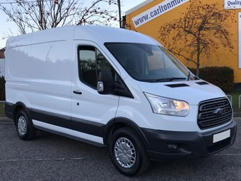 2014 FORD TRANSIT 2.2 350 TREND L2 H2 MWB [ MOBILE WORKSHOP RACKING ] VAN TDCi 125   £9950.00