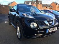 2015 NISSAN JUKE 1.6 ACENTA XTRONIC 5d AUTO 117 BHP £9995.00