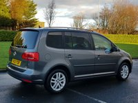 USED 2013 13 VOLKSWAGEN TOURAN 1.6 SE TDI BLUEMOTION TECHNOLOGY 5d 103 BHP