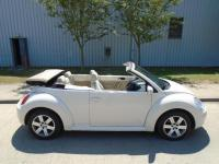 USED 2011 11 VOLKSWAGEN BEETLE 2011 (11) VOLKSWAGEN BEETLE LUNA CONVERTIBLE CREAM LOW MILEAGE PART EXCHANGE AVAILABLE / ALL CARDS / FINANCE AVAILABLE
