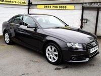 2012 AUDI A4 2.0 TDI SE 4d AUTO 141 BHP £9250.00