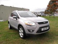 USED 2011 11 FORD KUGA 2.0 TITANIUM TDCI AWD 5d AUTO 163 BHP AUTOMATIC, HALF LEATHER